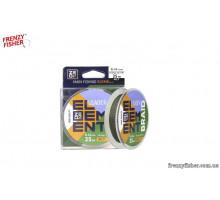 Поводочный материал ZEOX Braid Silt 25м 0,18мм