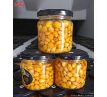 Наживка кукуруза стекло 200мл. (МР) чеснок