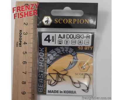Крючок Scorpion AJI DUOSKI № 4