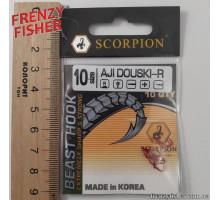 Крючок Scorpion AJI DUOSKI RED № 10