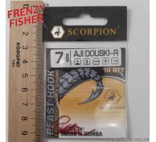 Крючок Scorpion AJI DUOSKI RED № 7