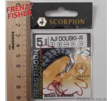 Крючок Scorpion AJI DUOSKI RED № 5