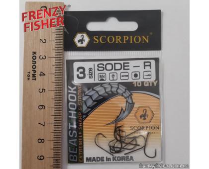 Крючок Scorpion Sode № 3