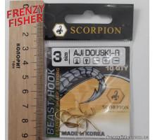 Крючок Scorpion AJI DUOSKI GOLD № 3