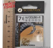 Крючок Scorpion AJI DUOSKI GOLD № 7