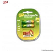 Аккумулятор GP R03 850 mAh С2 (блистер 2 шт) цена за 1 шт