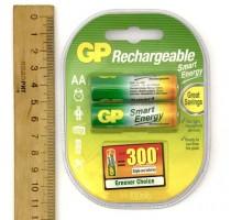Аккумулятор GP R06 1000 mAh С2 (блистер 2 шт)