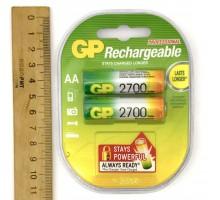 Аккумулятор GP R06 2700 mAh С2 (блистер 2 шт)