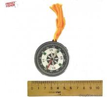 Компас 11-3 с веревкой на листе 12 шт (рыбалка опт)
