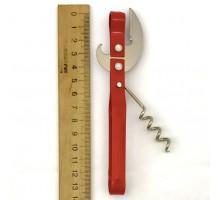 Открывалка метал.(нож+штопор) №25
