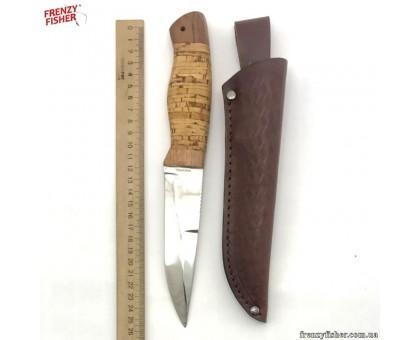 Нож GRAND WAY 2255 BLP охотн. (береста)