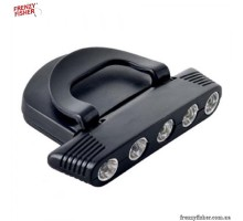 Фонарик на кепку 5 ламп LR-A 008