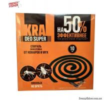 Спираль от комаров и мух KRA (10 шт)