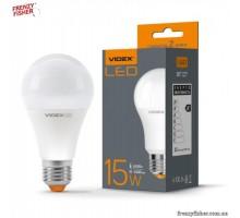 LED лампа VIDEX  A65e 15W E27  4100K  220V