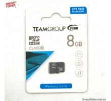 Карта памяти micro-SD Team 8Gb (10 CLASS)