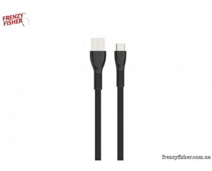 Кабель USB- Type C HAVIT HV-H612 1m 2A (1131) плоский